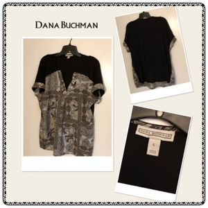 Dana Buchman Women's Printed Top